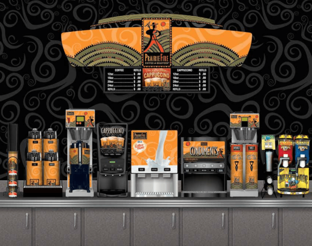 gas station coffee options