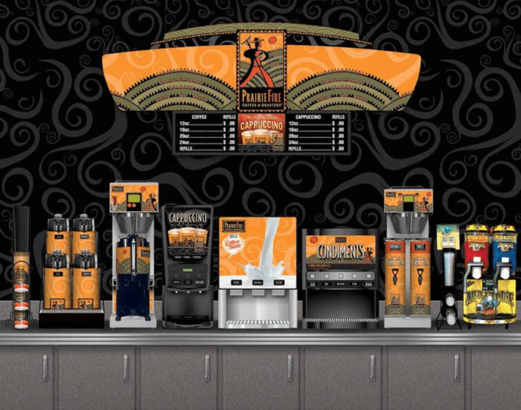 gas station coffee options